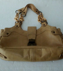 Grupo INDITEX torbica od prave kože