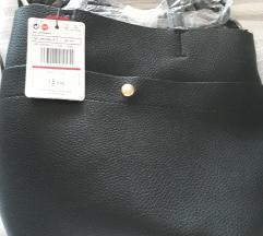 MANGO crna torbica NOVA