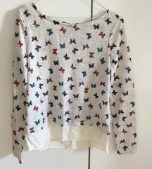 Pletena majica na leptirice NOVA