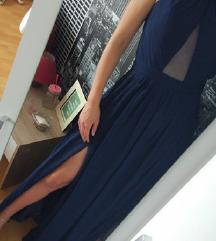 Tamnoplava haljina 36
