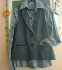 Orsay ženska košulja i prsluk br. 38, komplet
