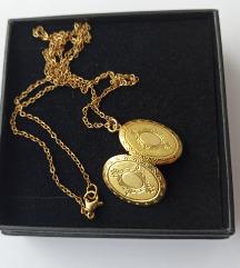 Medaljon ogrlica (kirurški čelik)