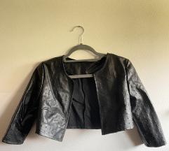 Kožni bolero/ jaknica/sako