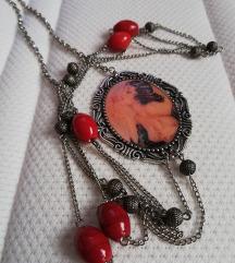 Handmade Vintage ogrlica s medaljonom