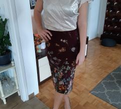 Zara pencil suknja