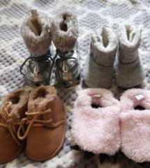 Dječje zimske cipelice, za curice 6-9 mjeseci