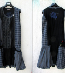 Desigual patchwork haljina 40