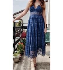 ASOS design čipkasta haljina