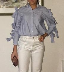 H&M trend košulja s mašnama