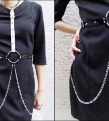 50€ Goth harness haljina Free Shipping!
