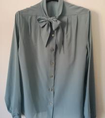 Vintage bluza na vezanje