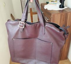 Mango velika burgundy torba