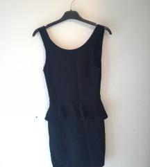 Zara crna haljina, S