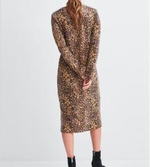 % Zara tigrasta haljina sa etiketom %