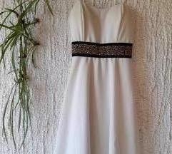 Crnobijela svečana haljina