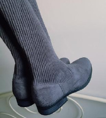 🖤 NOVE sive cizme 40