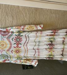 Zara duga pamučna haljina