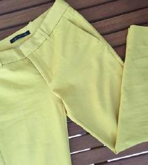 ZARA žute chino hlače / od odijela