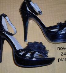 Sandale crne br 37