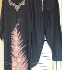 Indijska haljina u kompletu sa dimijama %%%%