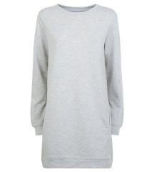 New Look duga siva majica