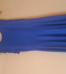 Pamučna rastezljiva haljina