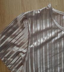 Metalic rose-gold majica