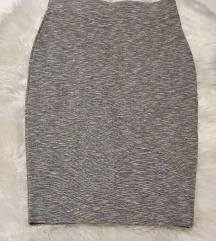 Suknja s elastinom