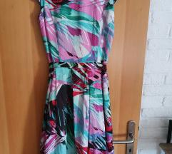 Nova Di Caprio svilena haljina