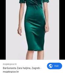 Zara barsunasta haljina 100 kn ukljucena postarina