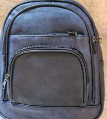 Novi plavo crni ruksak