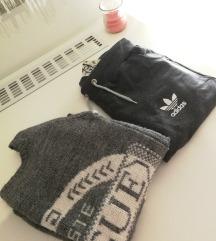 Vogue pulover i adidas trenirka