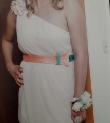 Rococo svecana haljina M svila -prilika snizeno🥳%