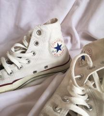 Converse bijele visoke tenisice 💛