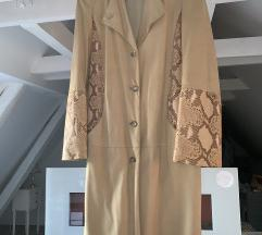 Nazarino Gabrielli kaput od mekane kože