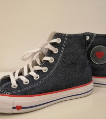 ALL STAR CONVERSE jeans tenisice