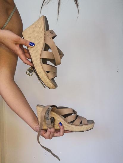 TIMBERLAND sandale na punu petu