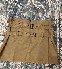 Zara mini military suknja
