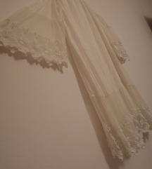 Svilena off shoulder haljina M/S