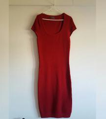 Calliope crvena pletena haljina, kao nova