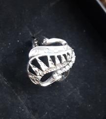 Prsten srebrni sa cirkonima
