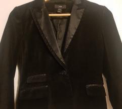 Barsunasti crni sako