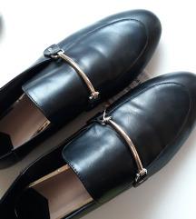 Stradivarius crne loafers
