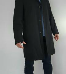 Muški crni kaput/baloner VODOOTPORAN
