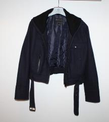 MANGO kratka vunena jakna