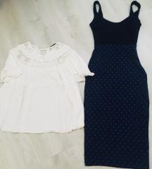 Zara bodycon haljina +poklon kosulja