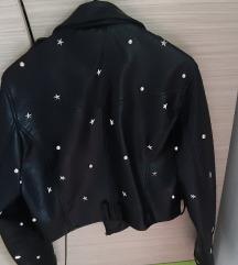 Kožna jakna bershka