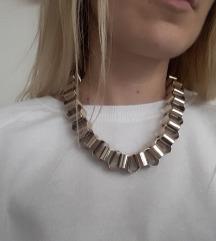 'Chunky' zlatna H&M ogrlica