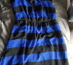 Prugasta haljina H&M