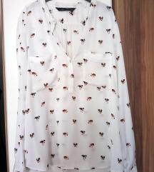 Zara bijela košulja na pse